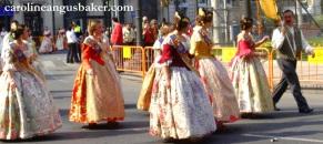 Las Fallas dresses