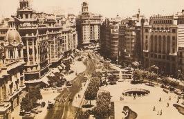 Plaza Ayuntamiento 1958 VCP
