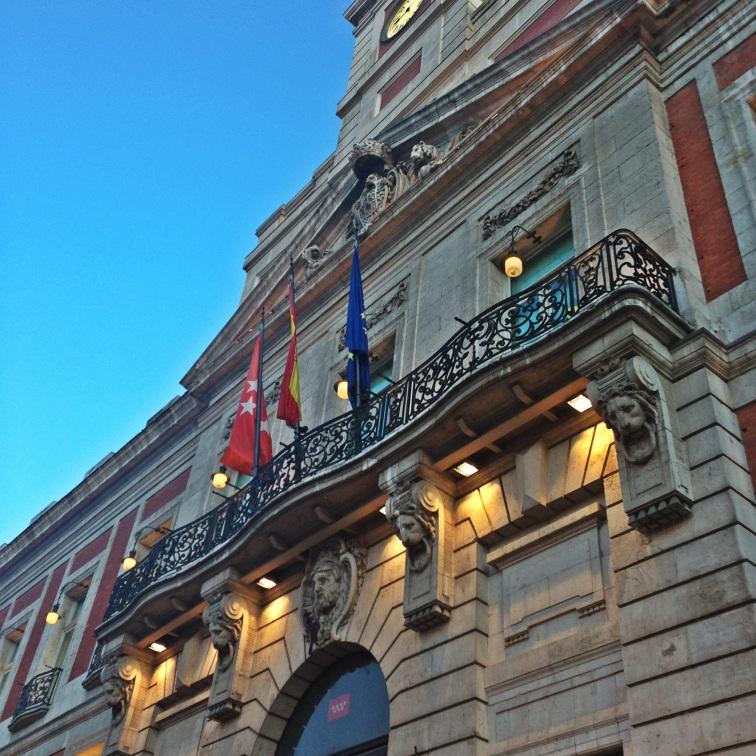 Town Hall, Puerta del Sol Madrid