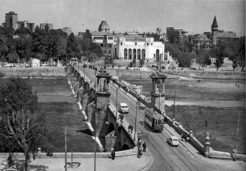 Puente de Real post-flood 1960's