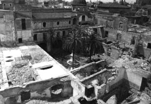 July 1936 after the torching of the church