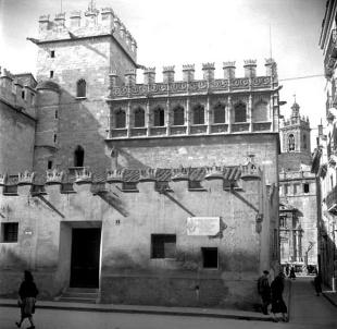 back entrance 1950's