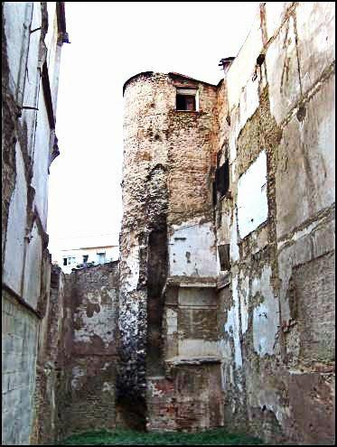 Torre de Angel 2013. Taken from street off Plaza del Angel