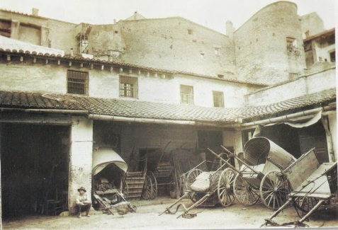 The hostal was destroyed in the 1957 flood