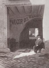 1930 Entrance Parador del Angel