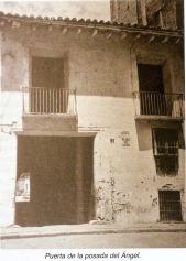 Plaza del Angel entrance 1940's