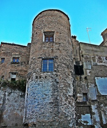 Torre del Angel 2013. Taken from what wasonce the hostal, and then park. Now a locked site