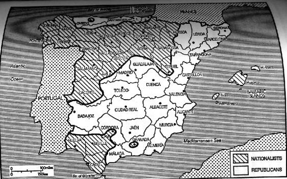 SpanishCivilWar_DivisionOfSpain_193607end