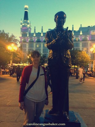 me paying homage to García Lorca's life in Madrid