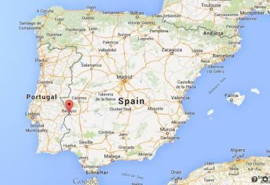Where-is-Badajoz-on-map-Spain