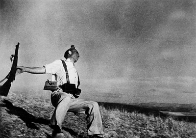 This Week In Spanish Civil War History Extra: 'Falling Soldier' by Robert Capa – 5 September 1936