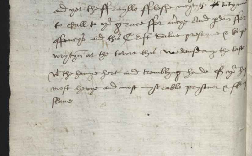 Thomas Cromwell's downfall: Part 4 – Cromwell's Complete Mercy Letter, 30 June1540